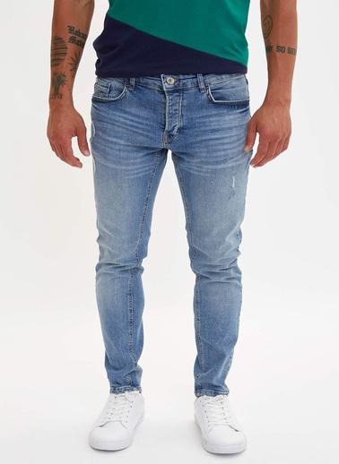DeFacto Skinny Comfort Fit Jean Pantolon Mavi